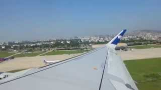 GoAir Flight Take off from Jaipur International Airport