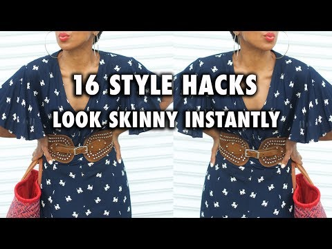 [VIDEO] - HOW TO LOOK THINNER IN CLOTHES | SKIRTS, DRESSES, PANTS 1