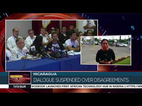Dialogue Between Nicaragua's Government and Opposition Suspended