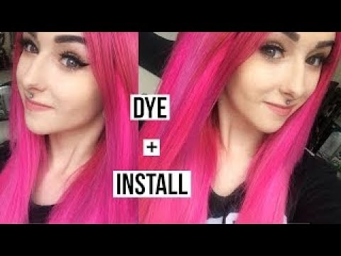 Flamingo Ombre Vp Fashion Tape In Extensions Dye And Install