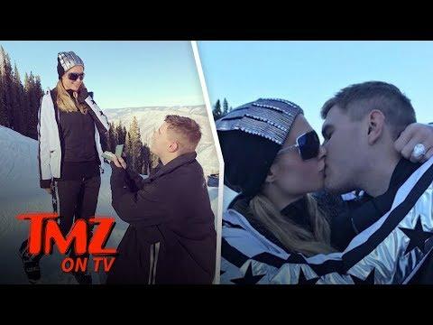Paris Hilton Is Off The Market!  TMZ TV