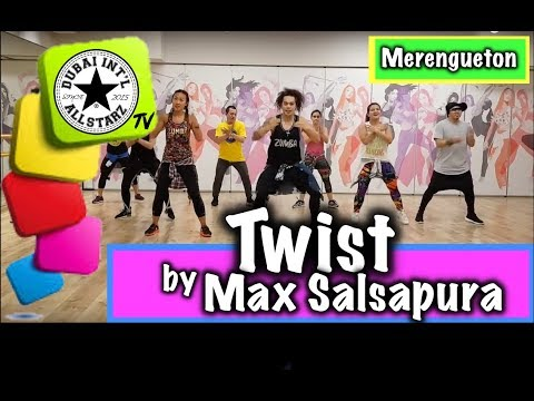 TWIST |Max Salsapura |Zumba® |Alfredo Jay Choreography | Dance