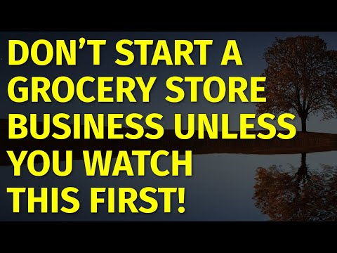 How to Start a Grocery Store Business | Including Free Grocery Store Business Plan Template