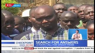 Search for answers after the killing of Kipchumba Murkomen\'s PA