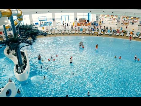 Крупнейший Аквапарк России. Новосибирский Аквамир лучший аквапарк
