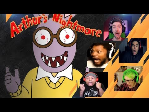 Gamers Reactions to Arthur (JUMPSCARE) | Arthur's Nightmare