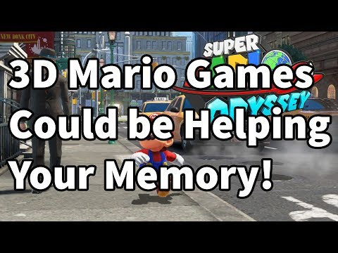 Study Shows that 3D Mario Games Are Helping Your Short Term Memory