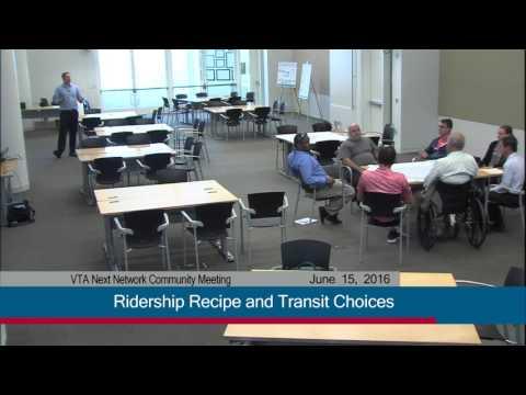 Live Stream of VTA Next Network Community Meeting (recording)