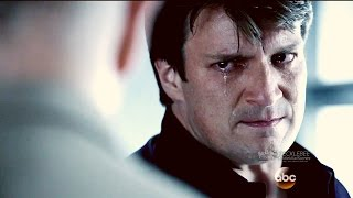 """Castle 8x22 - Castle Cries as He Is  Forced To Tell the Truth  """"Crossfire"""" Series Finale"""