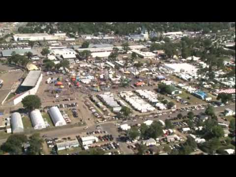 South Dakota State Fair Aerial Video Fly By Youtube