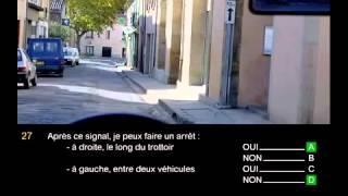 permis B voiture France 2015 HD   test gratuit en ligne