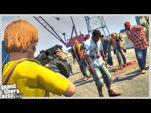 🔹 GTA 5 THE WALKING DEAD #8 - NEW ZOMBIE UPDATE & CRAFTING SYSTEM! (GTA 5 GAMEPLAY)