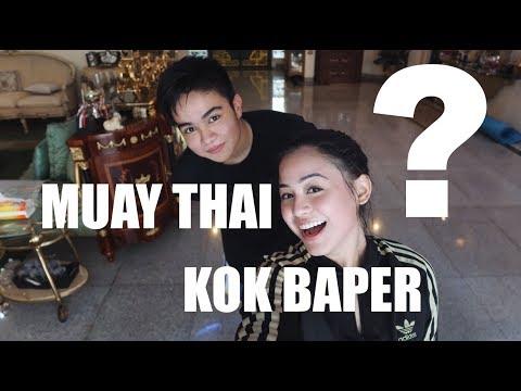 MUAY THAI KOK BAPER?? (FT. UMAY SHAHAB)