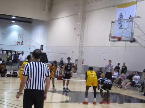 Romeo Langford (18/Twentytwo Vision) vs Ohio Basketball Club