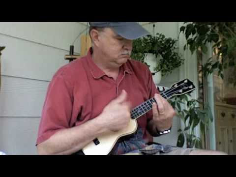 Aint She Sweet Barre Chord Solo Ukulele Ukesterbrown Youtube