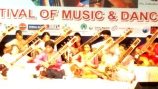 Hansadhwani Raga Sitar Fusion - Ravi Chary & Students