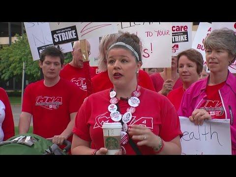 Allina Nurses Start Day 1 Of Strike