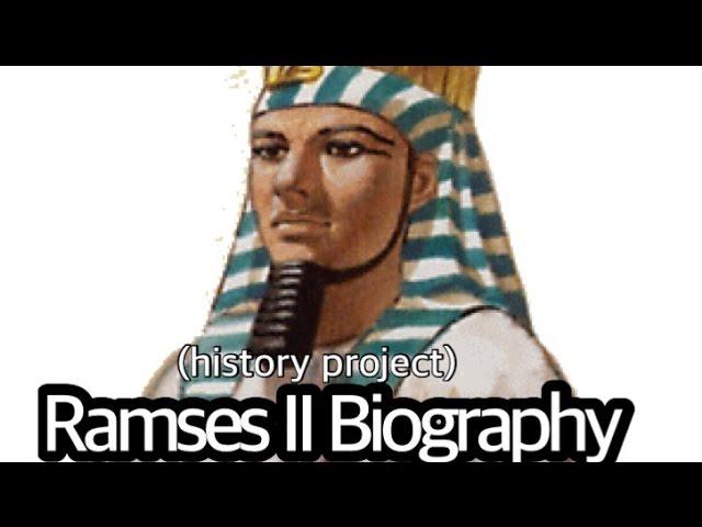 king ramses ii biography