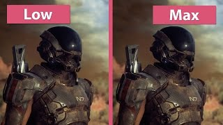 4K UHD | Mass Effect: Andromeda – PC Low vs. Medium vs. High vs. Max Graphics Comparison
