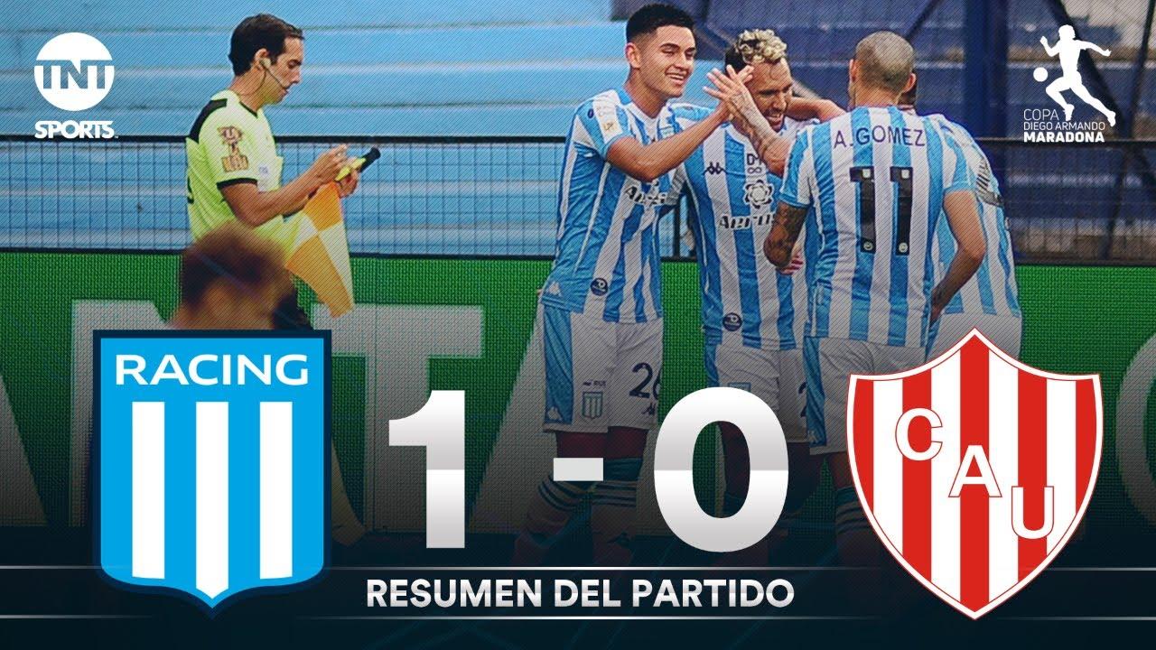 Resumen de Racing vs Unión SF (1-0) | Fecha 5 | Zona 1 | Copa Diego Maradona