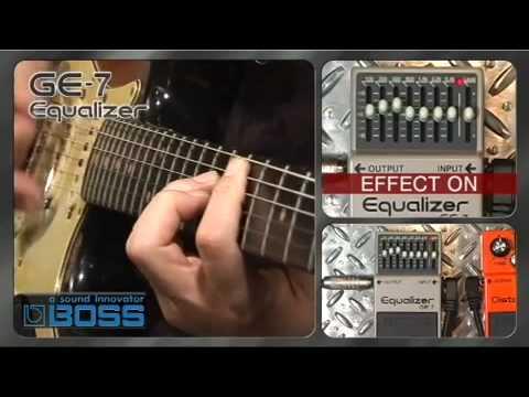 GE-7 Equalizer [BOSS Sound Check]