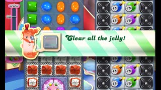 Candy Crush Saga Level 1384 walkthrough (no boosters)