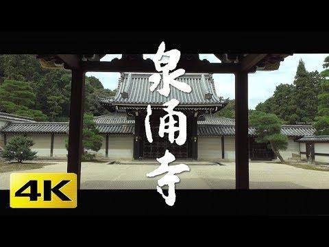 [4K] 泉涌寺  京都の庭園 Sennyu-ji Temple [4K] The Garden of Kyoto Japan