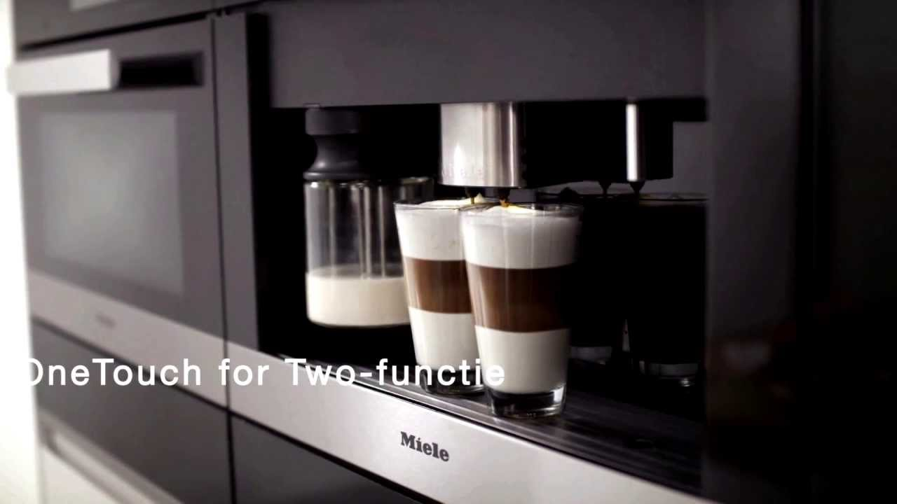 Espresso Coffee Miele-inbouwkoffiemachines Met Maalsysteem - Youtube