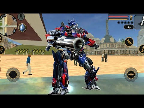 ► Transformer Optimus Prime Car Escape