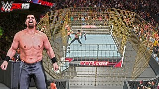 WWE 2K19: The Great Khali & Punjabi Prison (Custom PC Mod) ft. Entrance w/Trons & Gameplay