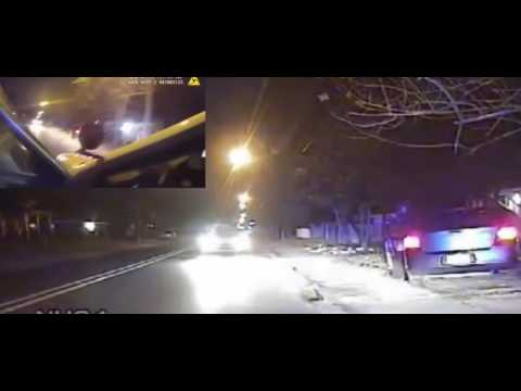 SHOTS FIRED, OFFICER HIT! Body And Dashcam Footage