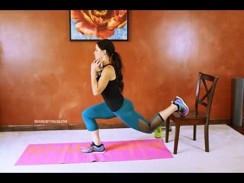 Lower Body + Core Shaping Workout & Cardio Bursts -30 Minute Home Workout