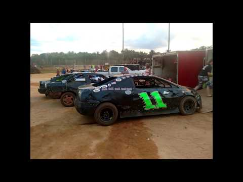 07-07-17 Jonathan Sarratt Wins at Harris Speedway, NC (FWD, 4cyl)