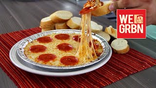 How To Make Pizza Dip - We Grubbin