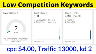 Low Competition Keywords #4 | Micro Niche Website | High Paying CPC