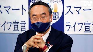 徳島県知事臨時記者会見 2020年10月19日
