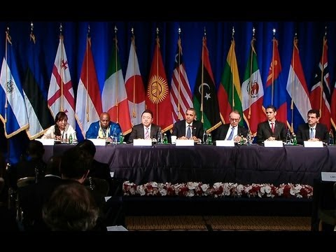 President Obama Holds a Civil Society Roundtable