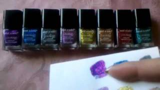 New WetnWild Ice Baby Nail Polish Collection Holiday 2011 Thumbnail