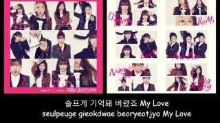Apink - Fairytale Love(사랑동화) Instrumental [Romanization + Hangul Lyrics]