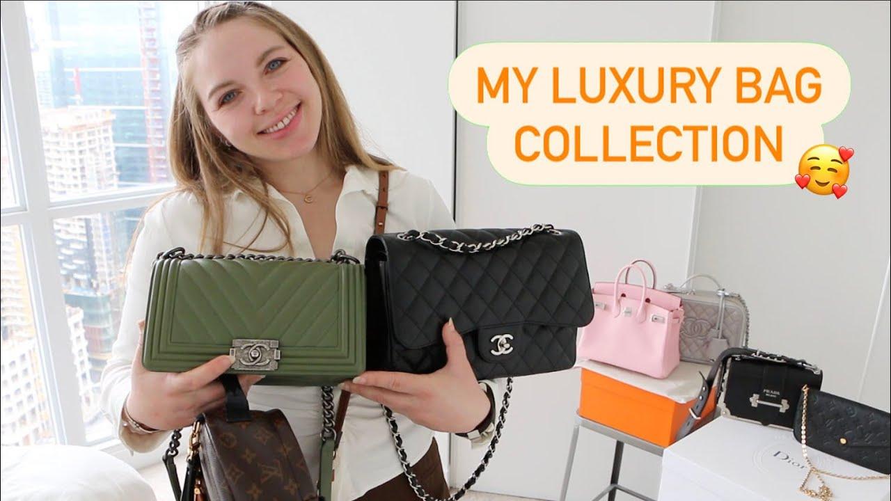 Luxury Handbag Collection - 15 Bags - CHANEL - Louis Vuitton - HERMES - DIOR - CELINE - PRADA + MORE