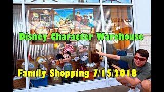 Disney's Character Warehouse Family Shopping Day 7/15/18