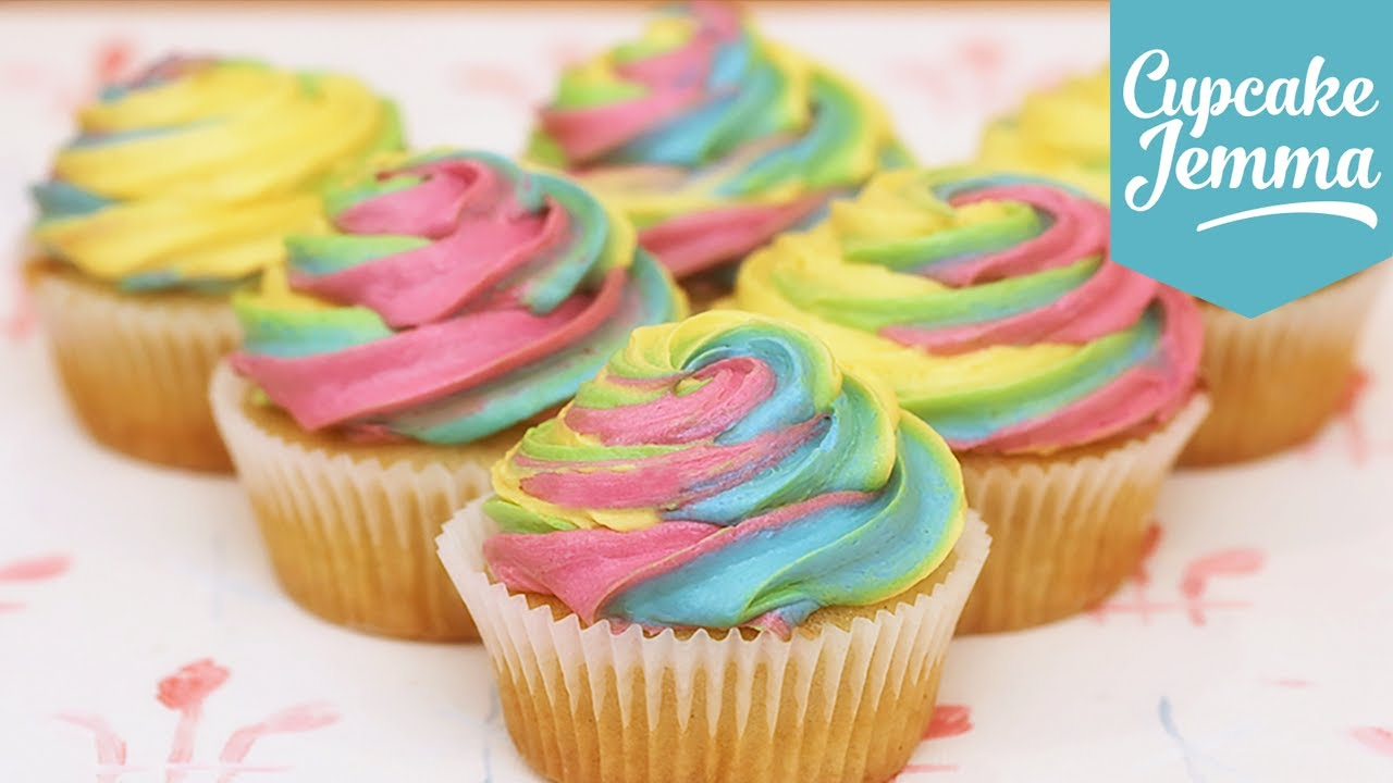 Cupcake Jemma Rainbow Cake Recipe