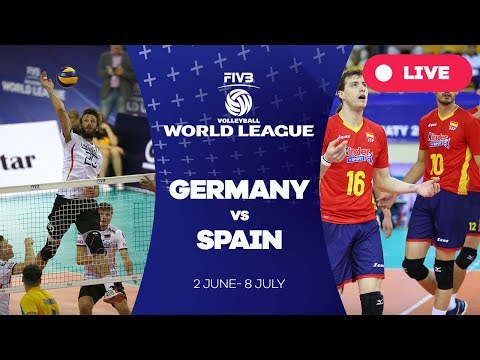 Germany v Spain - Group 3: 2017 FIVB Volleyball World League