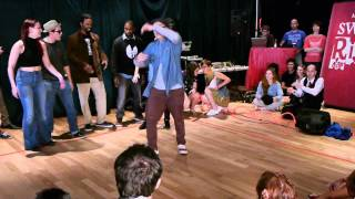 Montreal Swing Riot 2012 - Street Dancers vs Lindy Hoppers Part 1