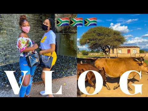A SOUTH AFRICAN VILLAGE + A Day In Polokwane, Limpopo, Meet My Cousin (Shopping).