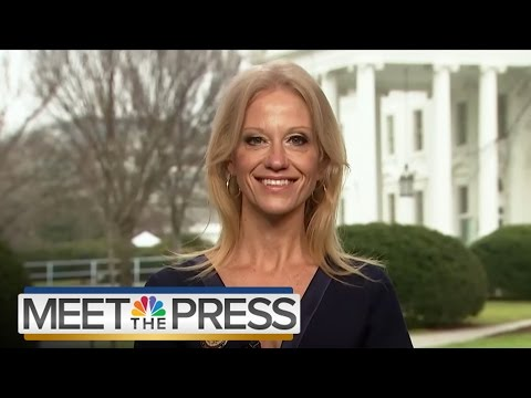 Kellyanne Conway: Presidents 'Aren't Judged by Crowd Size' (Full)   Meet The Press   NBC News