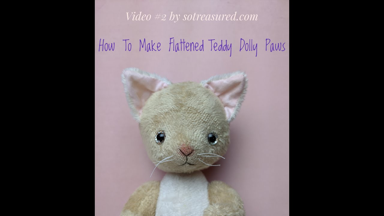 How to make Flattened Paws