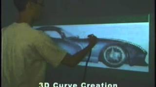 Creating Principal 3D Curves with Digital Tape Drawing
