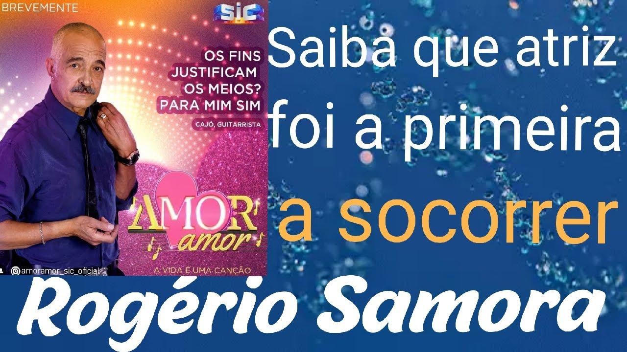 Saiba que a atriz SOCORREU primeiro Rogério Samora após a paragem cardo-respiratória