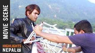 Children Abduction Scene   Nepali Movie CONFUSE   Pawan Kumar   Kala Ghimire